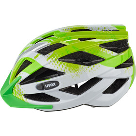 UVEX Air Wing Kask rowerowy Dzieci, lime-white